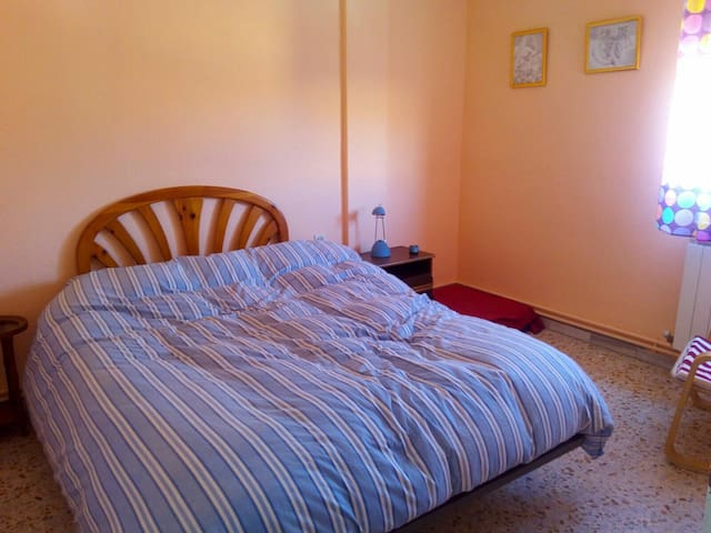 Habitación matrimonio. Cama 195x200 - Medina del Campo - Lejlighed
