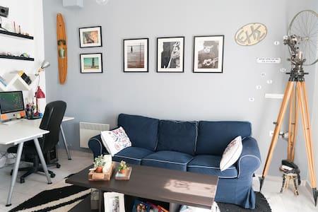 Artistic maisonette in Hermoupolis - Casa