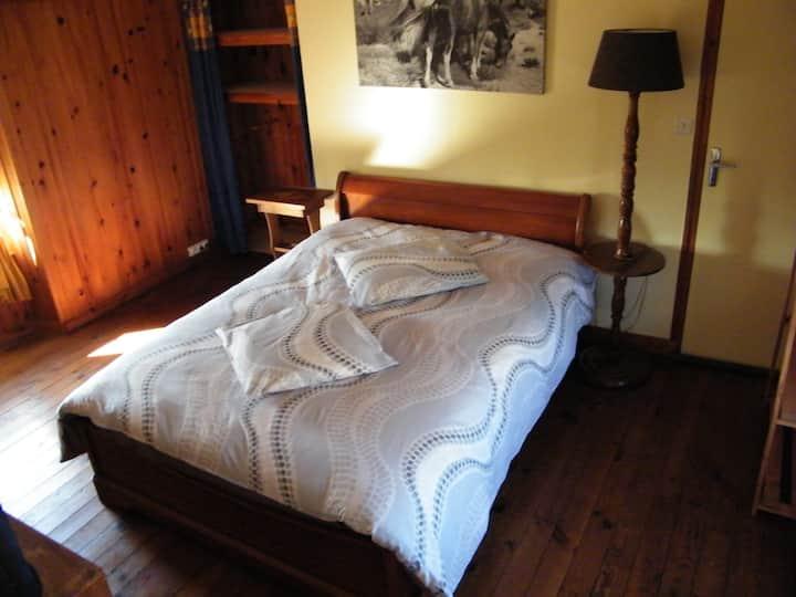 """Une """"chambre chez l'habitant"""" à deux lits"""