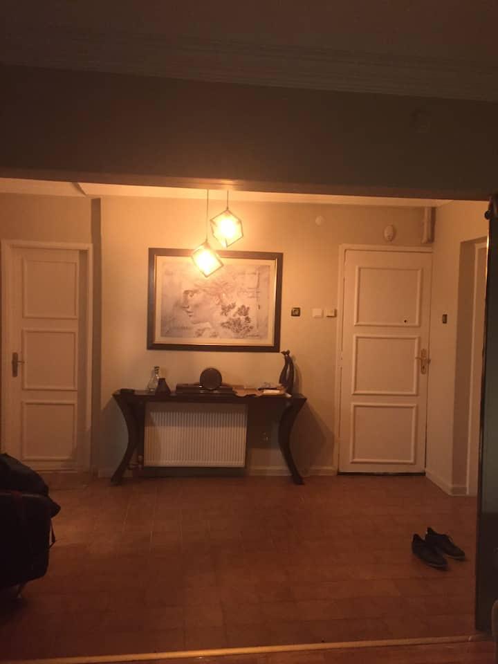 Edirne Merkez lüx daire salonda tek kişilik çekyat