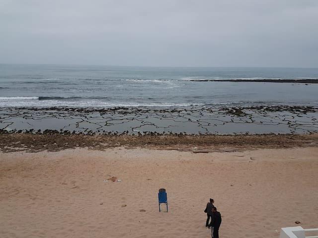 Loft pied sur mer : plage Guy Ville, Herhoura