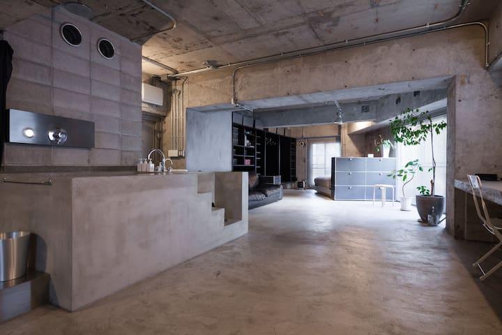 Tokyo Artist Loft in Omotesando - Minato-ku - Lägenhet