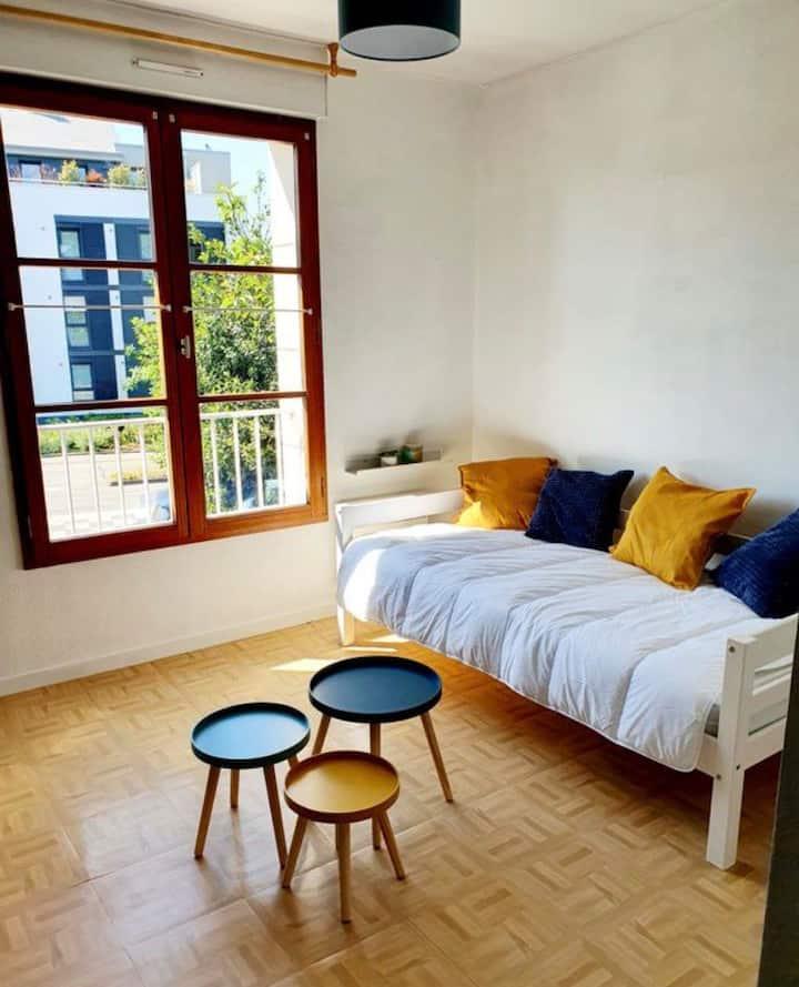Appartement chic et chaleur rennes cesson