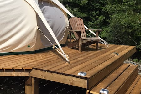 Your Tent + Our Platform = Glamping on the Farm