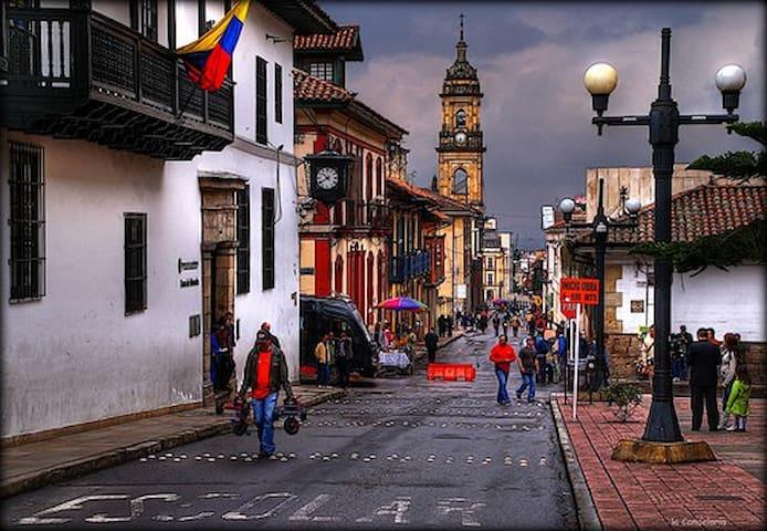 Downtown, Best Location, Roomy! 4 - Bogotá - Apartment