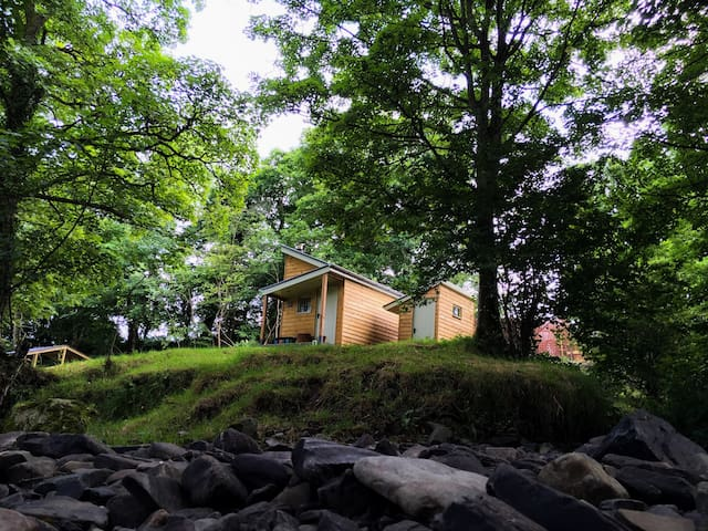 Eira's Den, glamping - Carno - Chalet