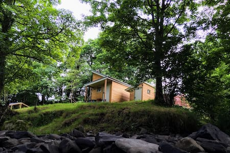 Eira's Den, glamping - Carno - Zomerhuis/Cottage