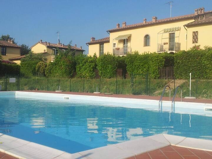 Appartamento con piscina vista meravigliosa