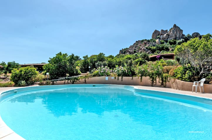Villa in Costa Paradiso surrounded by the nature