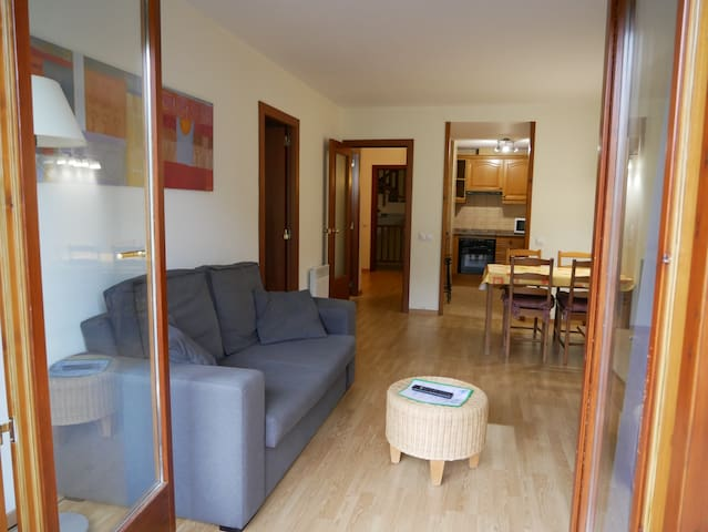 Apt.1br, 2/4pers, balcony, view and sun hut 5221