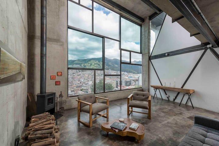 Designer Loft Centro de Quito
