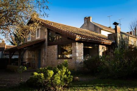 maison d'architecte et pierres appa - Mazerolles