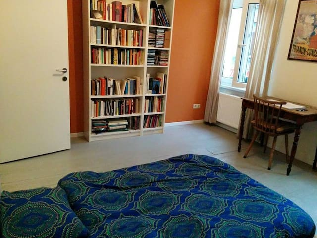Private room for couple or single traveler - Anvers - Ev