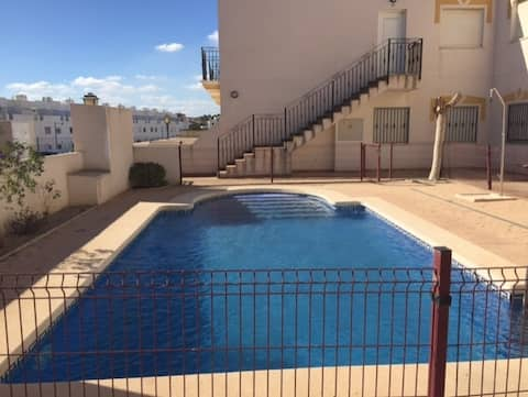 2 Bedroom Apartment with pool Palomares