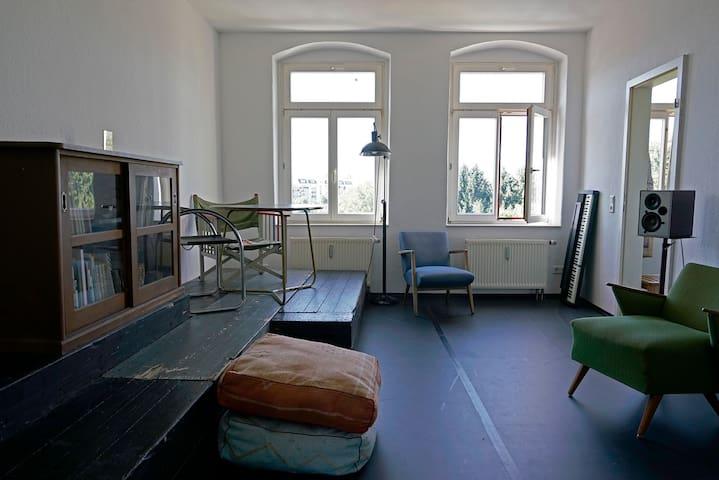 Helle Wohnung in Elbnähe - Dresden - Leilighet