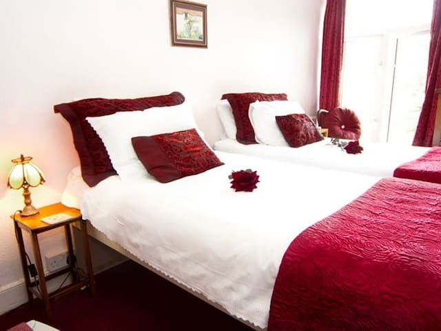 Double or Twin with private bathroom in St Austell