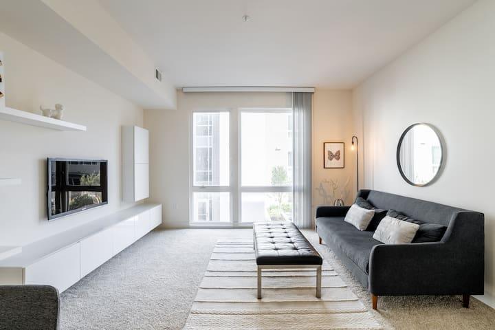 Shared cozy modern condo