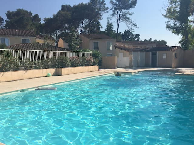 Nice house with swimming pool, garden and park - Mougins - House