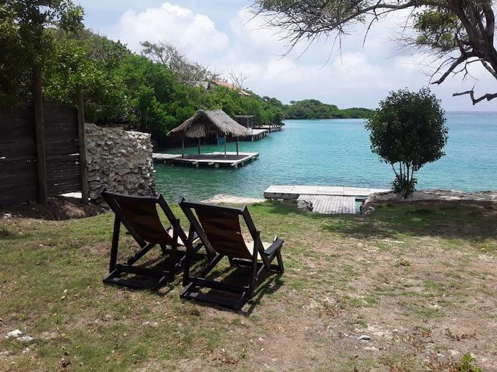Lugar hermoso en isla del Rosario