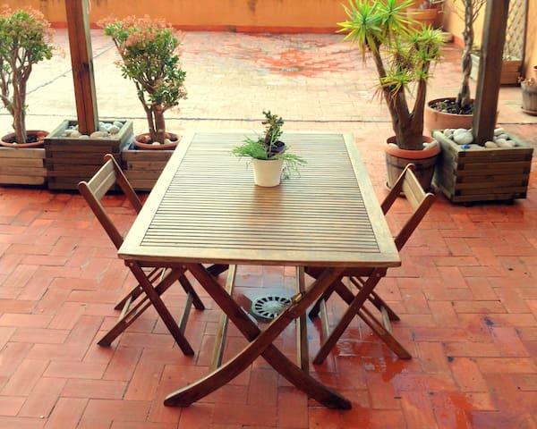 WIFI & Spectacular Terrace - València - Appartement