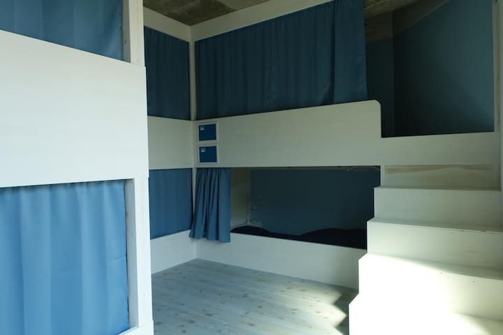 Hostel NABLA Bunk Bed in Mixed Dormitory Room