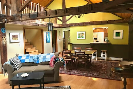 Upstairs @ East Creek Homestead