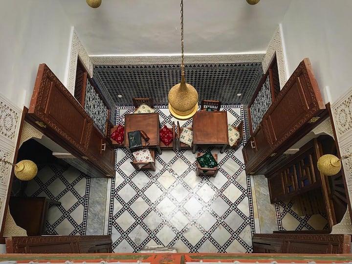 Cozy room for two in Riad Dar Rumi