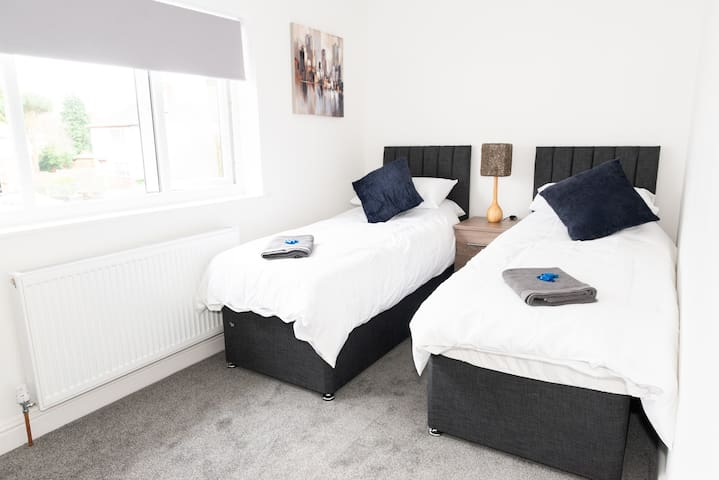 Both bedrooms can be configured as Twins or Kings on request.