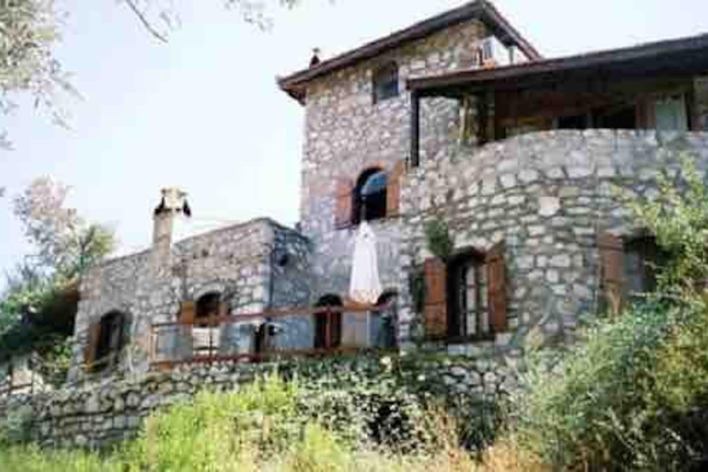 Stone Villa Facade