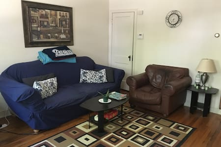 One room in a two bedroom apartment - Washington