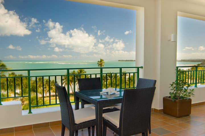 4 bedroom Oceanfront @ Wyndham Rio Mar Beach