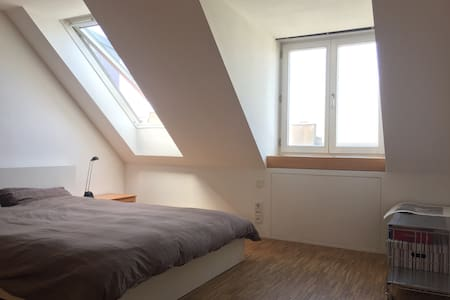Bedroom in beautiful Penthouse - München - Loft