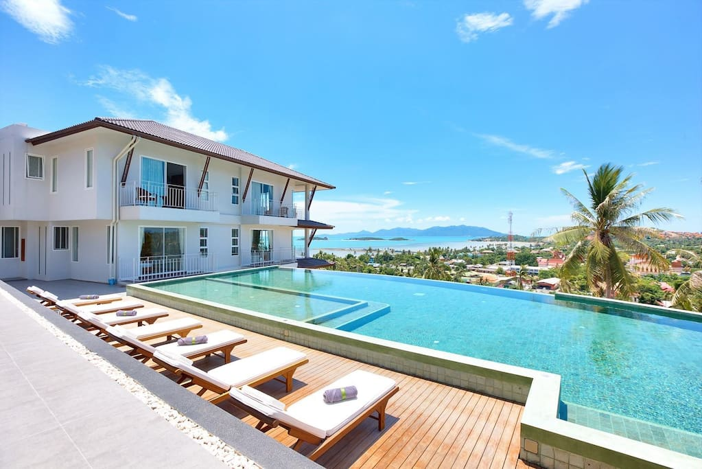 Spectacular Views from The infinity pool