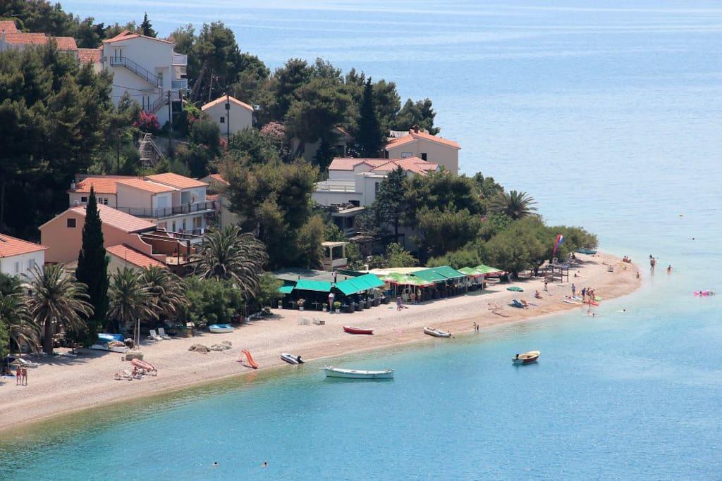 Stanici Beach (Omis, Croatia)