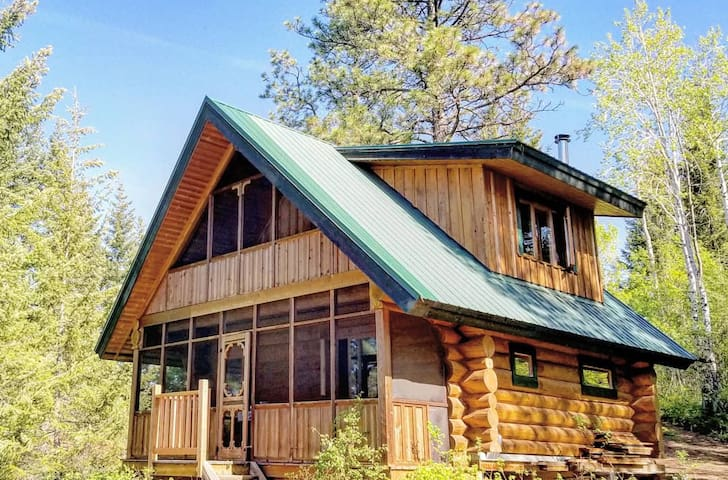 Wild Rose Ski Cabin Glamping Larch Hills