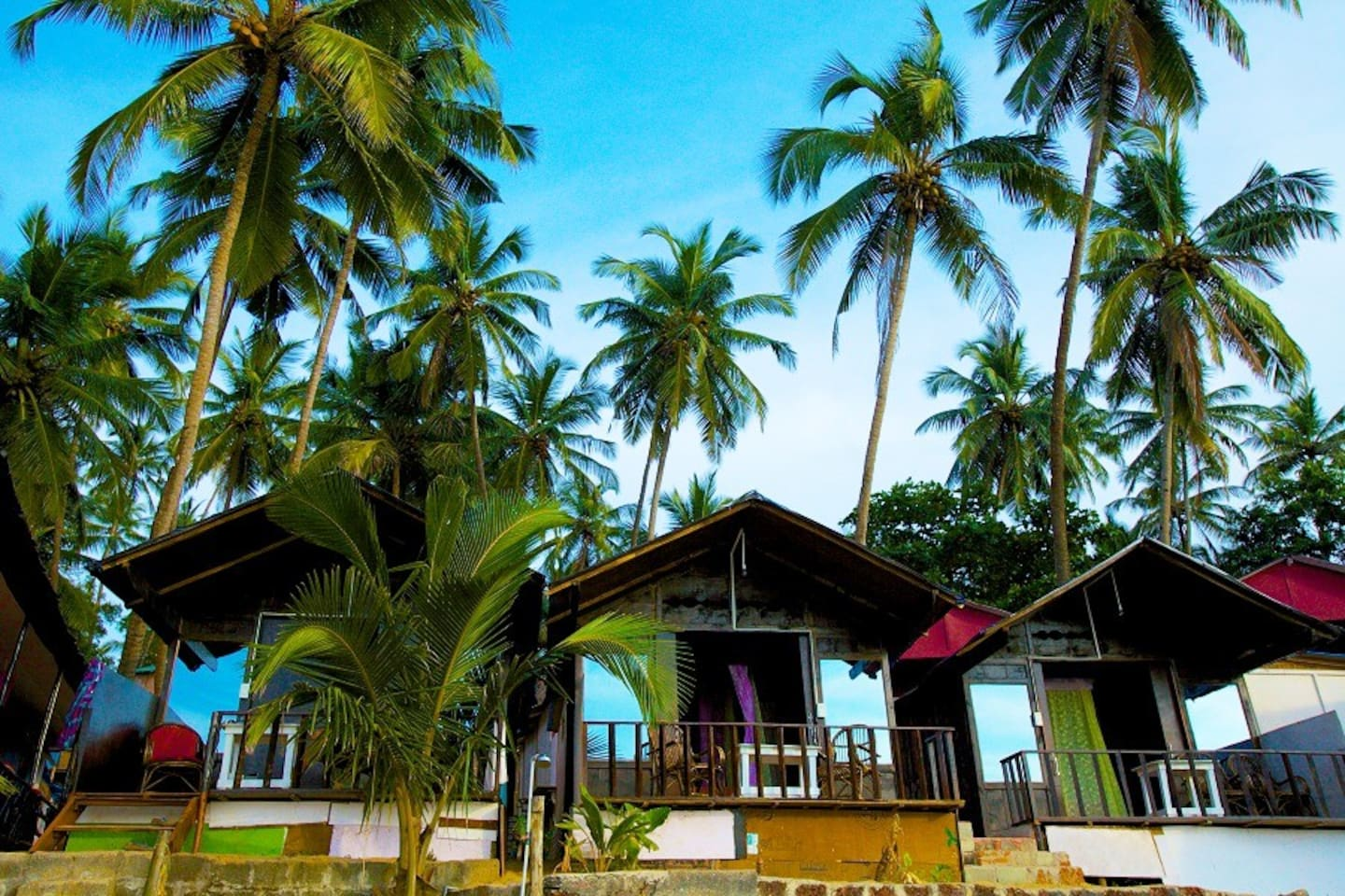 Green Park Resort Beachfront Hut Palolem Beach South Goa