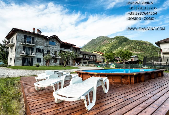 B&B Zia Vivina (Como Lake) - Sorico  Co - Bed & Breakfast