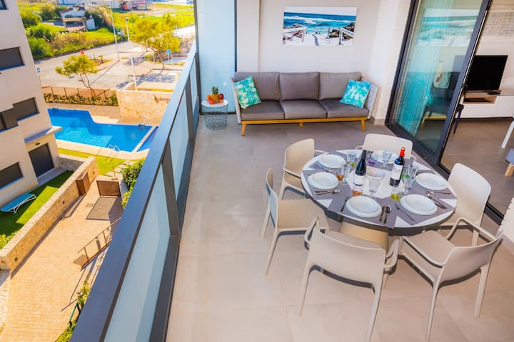 Penthouse I Arenal Dream Javea, Luxury with Roof Terrace & only 150m from the Beach