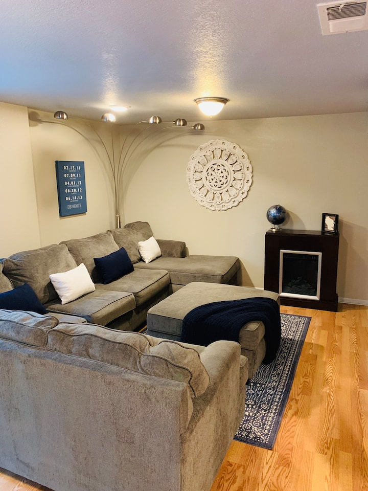 Family-Friendly Lower Level Apartment