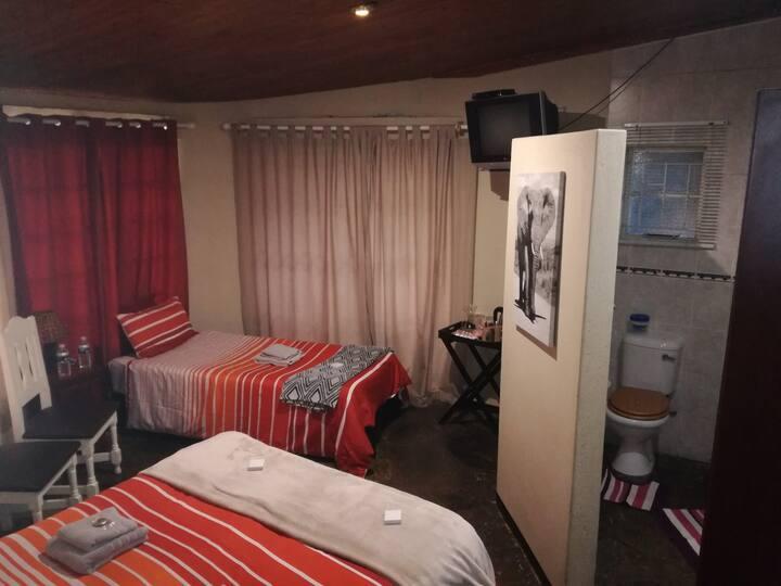 Big 5 Guesthouse Elephant Room
