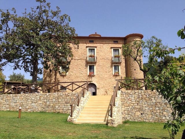 17thCentury Country Castle in the heart of Cilento - Ceraso - Huis
