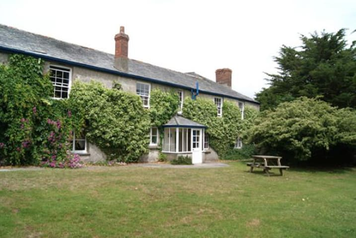Lee Barton Farmhouse, near Bude, Cornwall