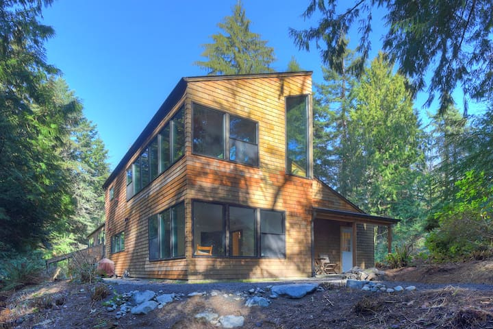 The Cedar Tree House on Bainbridge Island - Bainbridge Island - Talo