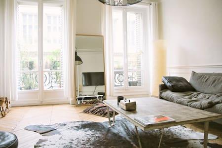 Superb apartment between Montmartre and Opera - Paris - Wohnung
