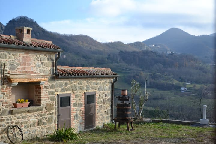 Ca' Tobia Villa in Euganei Hills, stunning view!