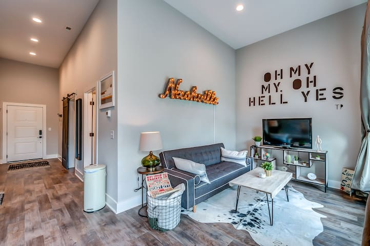 New Condo in East Nashville close to Downtown!