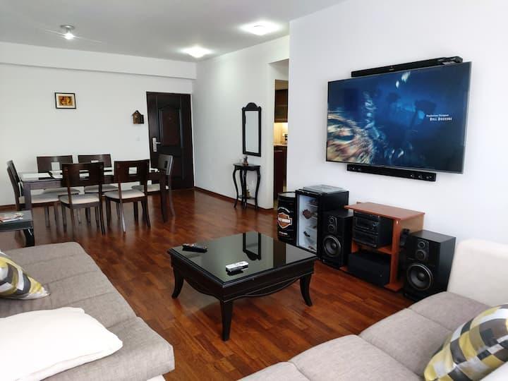 Departamento con lugar estratégico en Riobamba