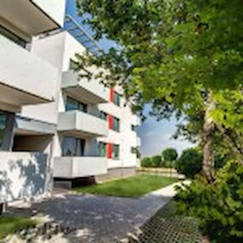 Luxury new flat in gated community w/ parking lot - Prague