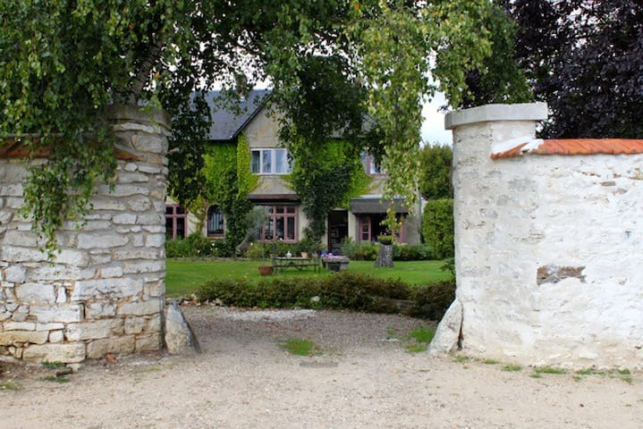 F2 maison avec parc dans cadre calme 20mn GIVERNY - Lommoye - อพาร์ทเมนท์