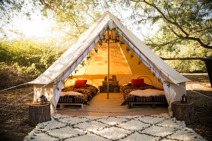 #1-ZION Luxury Boutique Eco Chic Camp! FURNISHED! - Virgin